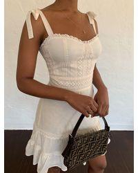 Reformation Maeve Dress - Natural