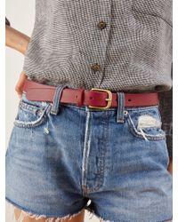 Reformation - Maximum Henry Slim Standard Belt - Lyst