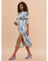 Reformation Carolena Dress - Blue
