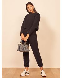 Reformation Rikki Two Piece - Black