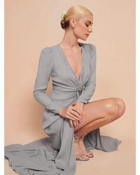 Reformation Gatsby Dress - Gray