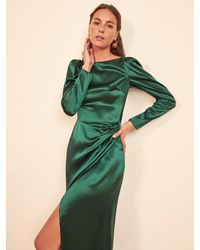 Reformation Cameron Dress - Green
