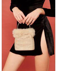 Reformation Vintage Frost Bag - Black