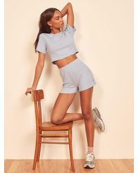 Reformation Wesley Two Piece - Blue