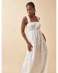 Reformation Ivie Dress - White