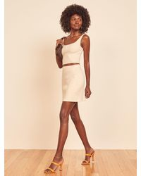 Reformation Julianna Two Piece - Natural