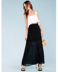Reformation Maxine Skirt - Black