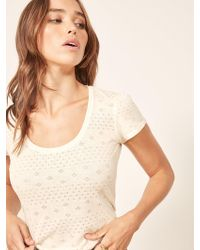 Reformation - Sadie Top - Lyst