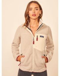 Reformation Patagonia Classic Retro X-jacket - Natural