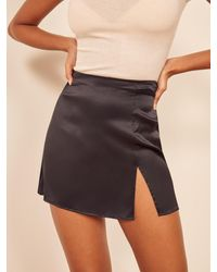 Reformation Robbie Skirt - Black