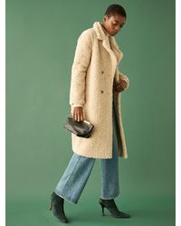Reformation Trolley Coat - Natural