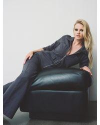 Reformation Leia Boiler Suit - Blue