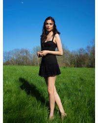 Reformation Maeve Dress - Black