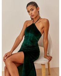 Reformation Nyla Dress - Green