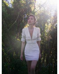 Reformation Cassatt Dress - White