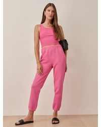 Reformation Classic Sweatpant - Pink