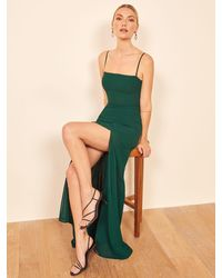 Reformation Ingrid Dress - Green