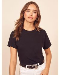 Reformation Perfect Vintage Tee - Black