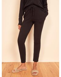 Reformation Cashmere Sweatpant - Black