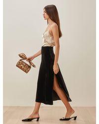 Reformation Baylee Skirt - Black