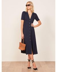Reformation - Clarice Dress - Lyst