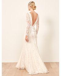 Reformation Hestia Dress - White