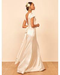 Reformation Geranium Dress - White