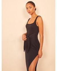 Reformation Hosby Dress - Black