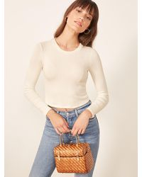 Reformation Jackie Top - White