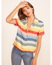 Reformation - Palma Top - Lyst