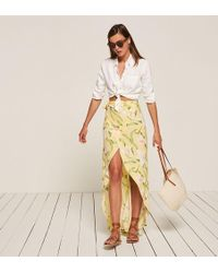 Reformation Lucia Skirt - Multicolor