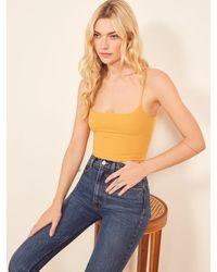 Reformation - Carrie Top - Lyst