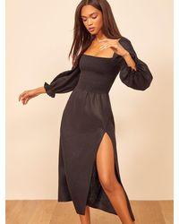 Reformation Gitane Dress - Black