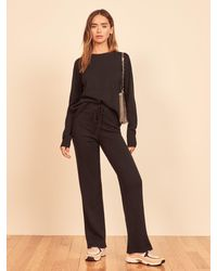 Reformation Cashmere Sweatsuit - Black