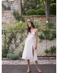 Reformation Juliette Dress - White
