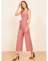 Reformation - Birch Jumpsuit - Lyst