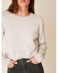 Reformation - Cotton Boyfriend Sweater - Lyst