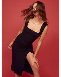 Reformation Cassi Dress - Black