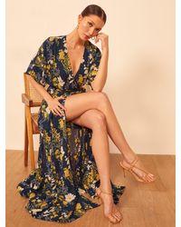 Reformation Petites Winslow Dress - Multicolour