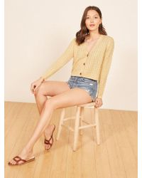 Reformation - Annabell Sweater - Lyst