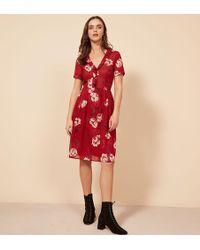 Reformation Pasadena Dress - Red