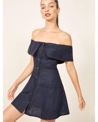 Reformation - Landy Dress - Lyst