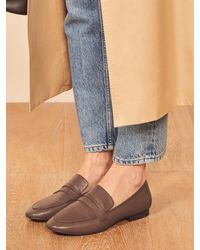 Reformation Colleen Loafer - Brown