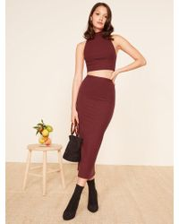 Reformation Knox Two Piece - Red