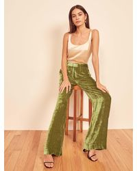 Reformation Wes Pant - Green