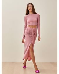 Reformation Zion Two Piece - Pink