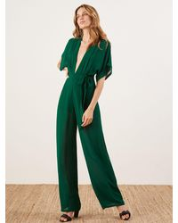 Reformation Lemongrass Jumpsuit - Green
