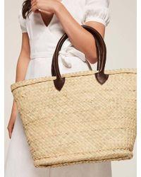 Reformation Cannes Market Bag - Natural