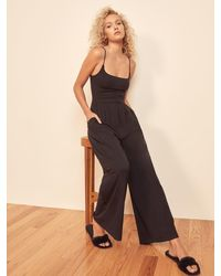 Reformation Chandler Jumpsuit - Black