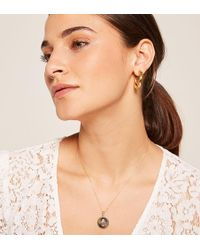 Reformation - Bagatiba Tri Circle Mary Necklace - Lyst